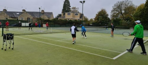 Rain did not stop play at Bath TC!