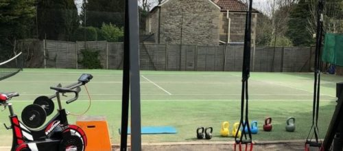 Bath Tennis Club – Training Zone is pumped and ready for you!